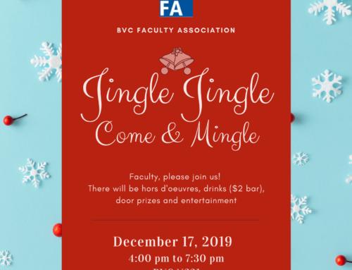BVCFA 2019 Holiday Social