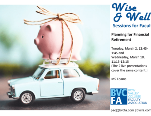 Wise & Well Recording & Presentation – Planning for Financial Retirement